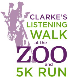 Clarke's Listening Walk at the Zoo and 5K Run