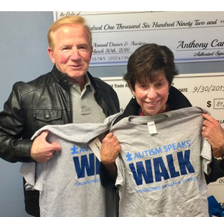 Jack and Susan at the Autism Speaks Walk