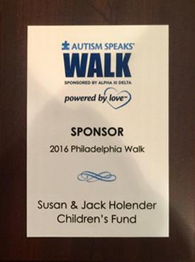 Autism Speaks Walk 2016