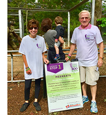 Sponsor Clarke's Listening Walk at the Zoo